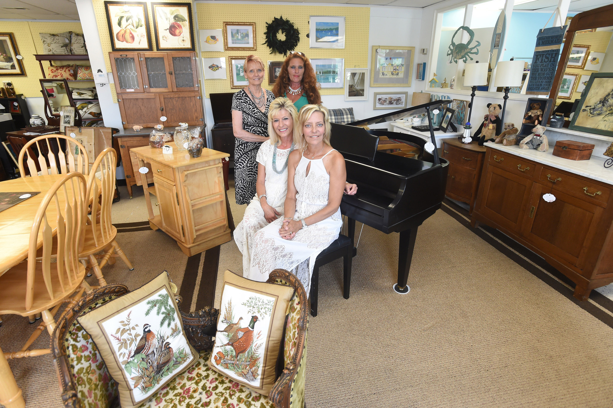 Shop owners join forces in the Carriage House Market Place Shops