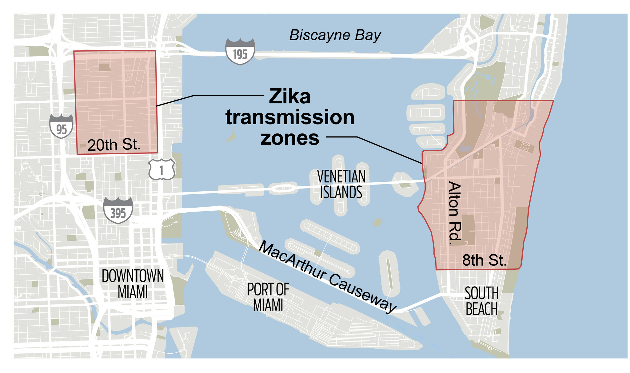 Feds Advise Pregnant Women Concerned About Zika To Avoid Miami - Map of florida counties with zika