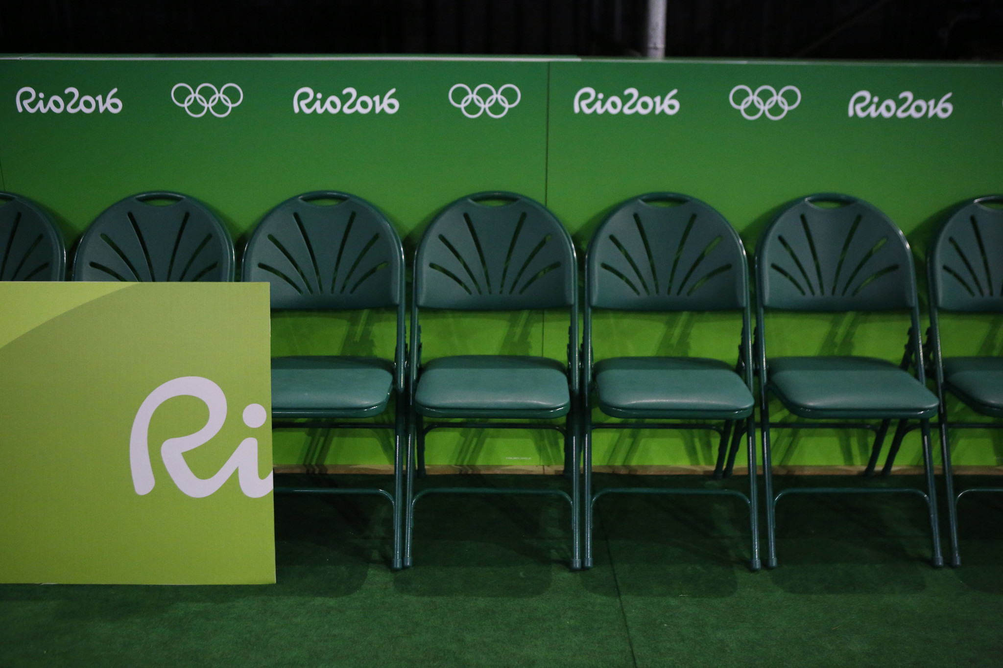 The chairs of Rio s Olympic champions have a secret second life