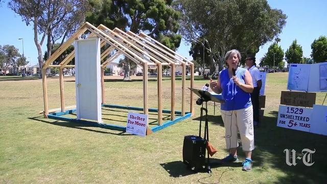 Group pushes for tiny house village for homeless in San Diego