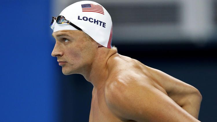U.S. swimmer Ryan Lochte won one medal at the Rio Olympics, a gold in the men's 800-meter freestyle relay. (Patrick B. Kraemer / European Pressphoto Agency)