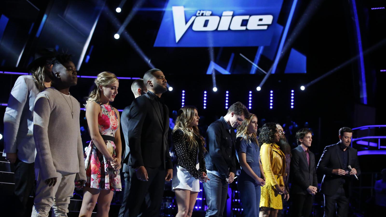 "NBCUniversal teamed up with Snapchat to produce mini TV shows for the app that are offshoots of its established properties, including ""The Voice."" (Trae Patton / NBC)"