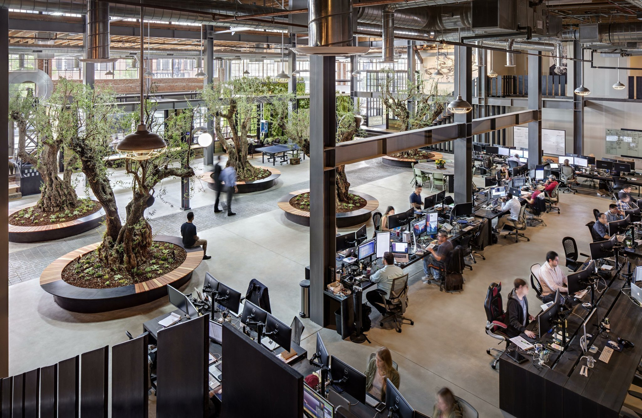 Creative Offices Aim For Happy Workers The San Diego