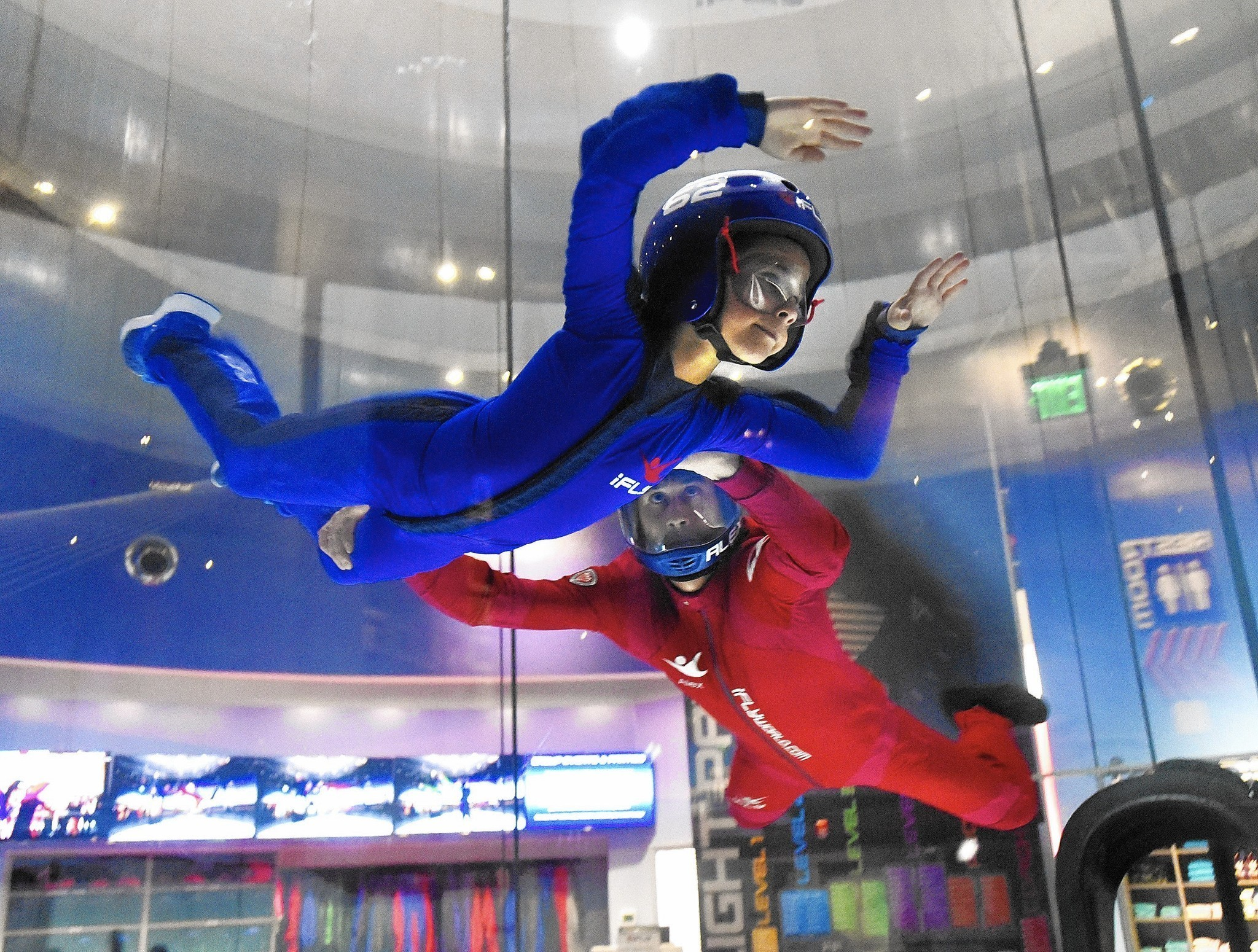 Area Indoor Skydiving Facility Lifts Off With Recent
