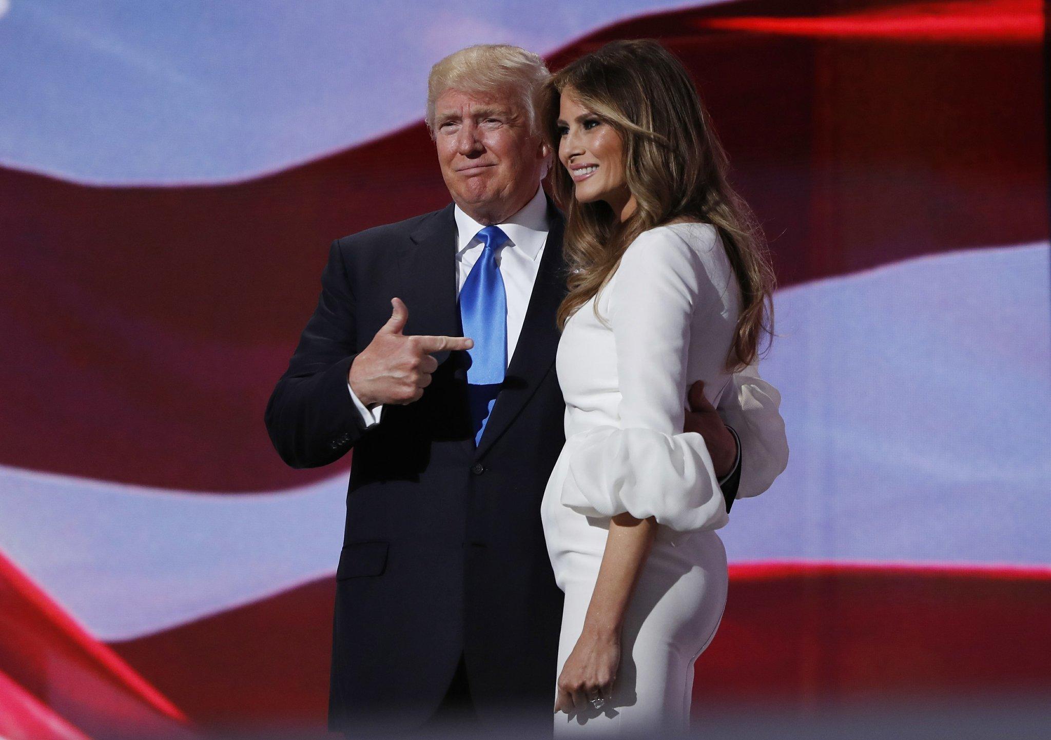 Melania Trumps Speech Sure Sounds Like Michelle Obamas The San