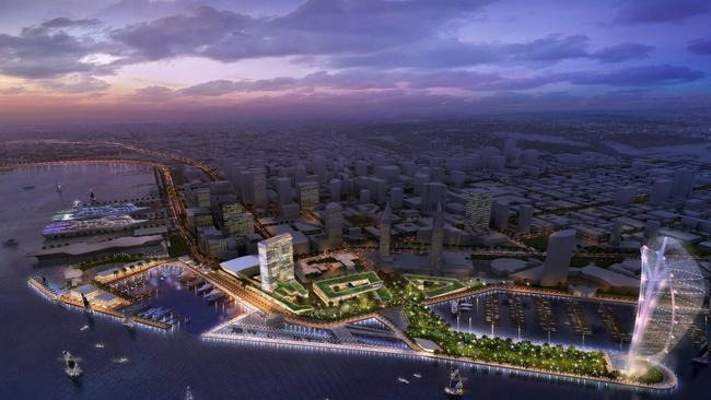 Celebration Place Proposed By Manchester Financial Group Is One Of Bids To Redevelop Seaport