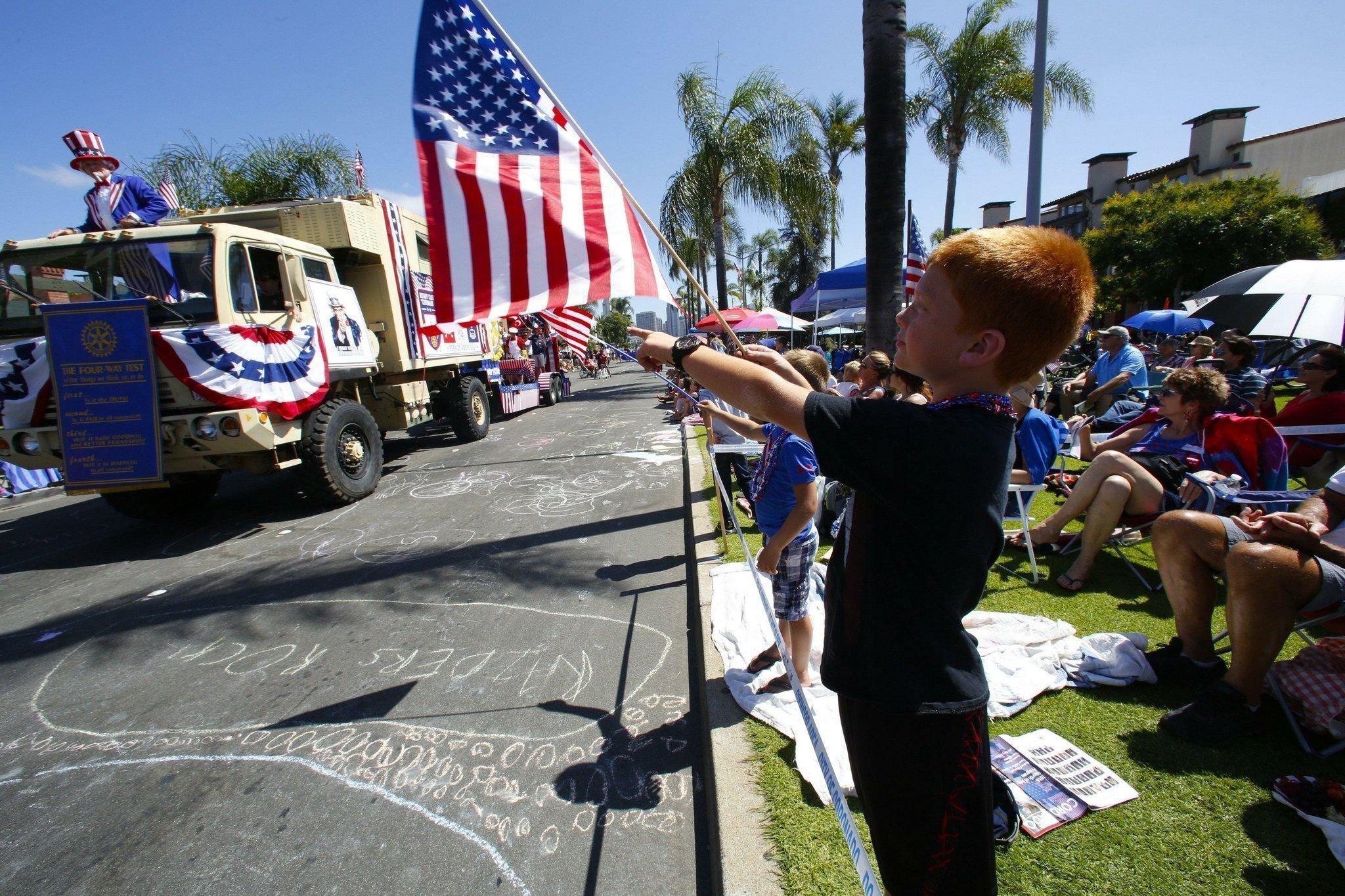 Celebrating American Independence In Coronado The San Diego Union Tribune