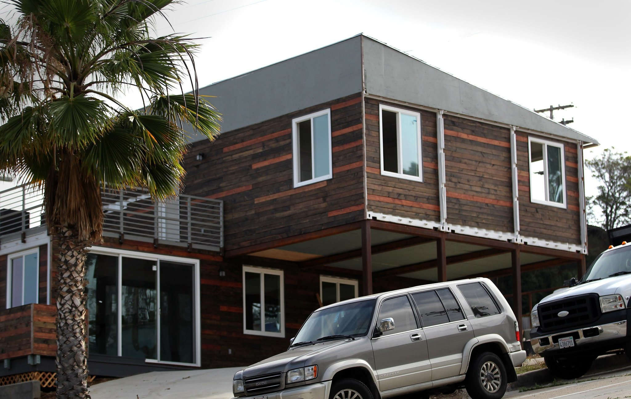 San diego 39 s newest container home the san diego union - Container homes san diego ...
