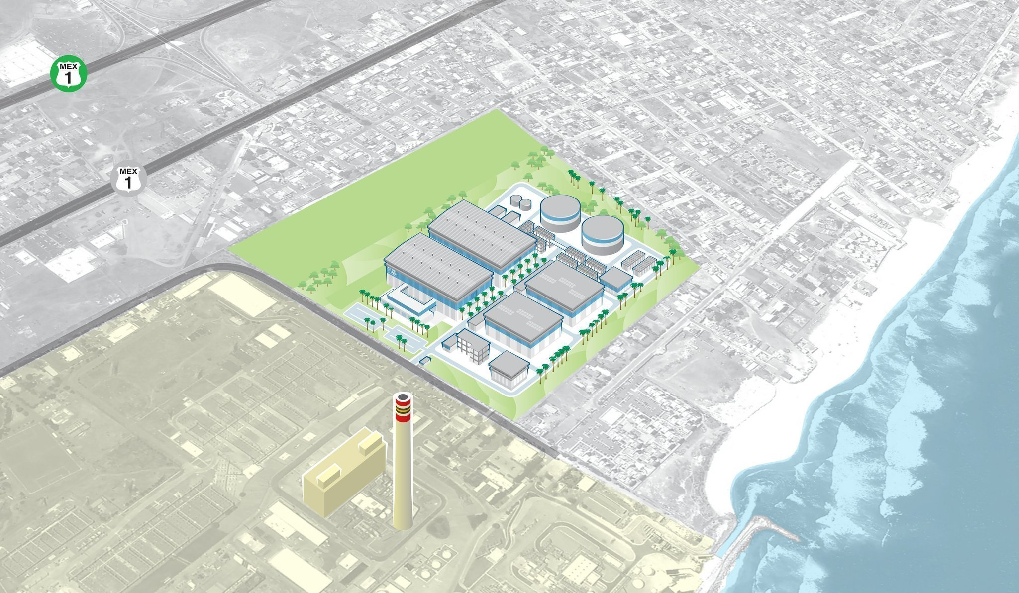 Winning bid announced for massive Rosarito Beach desal plant The