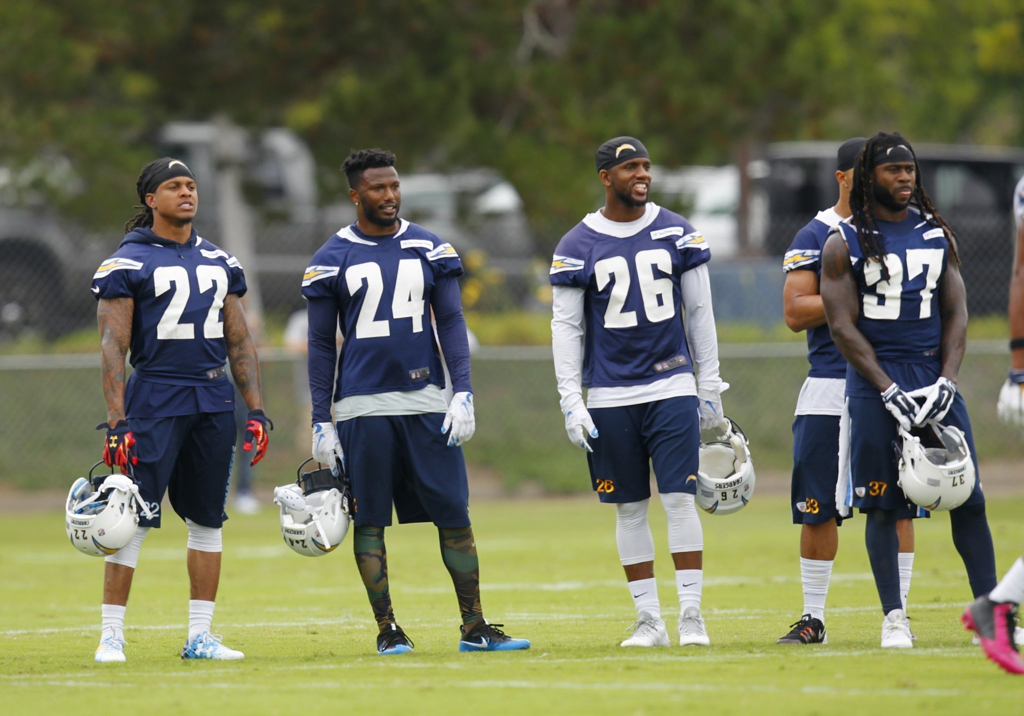 Bolts veteran safety DBs need to build on strong spring The San