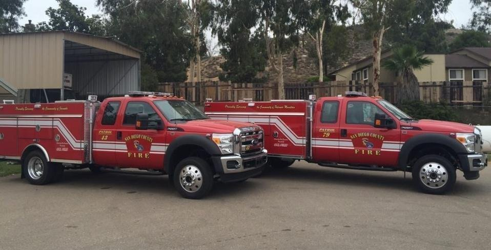 County adds four brush fire trucks to rural stations the san diego county adds four brush fire trucks to rural stations the san diego union tribune publicscrutiny Images