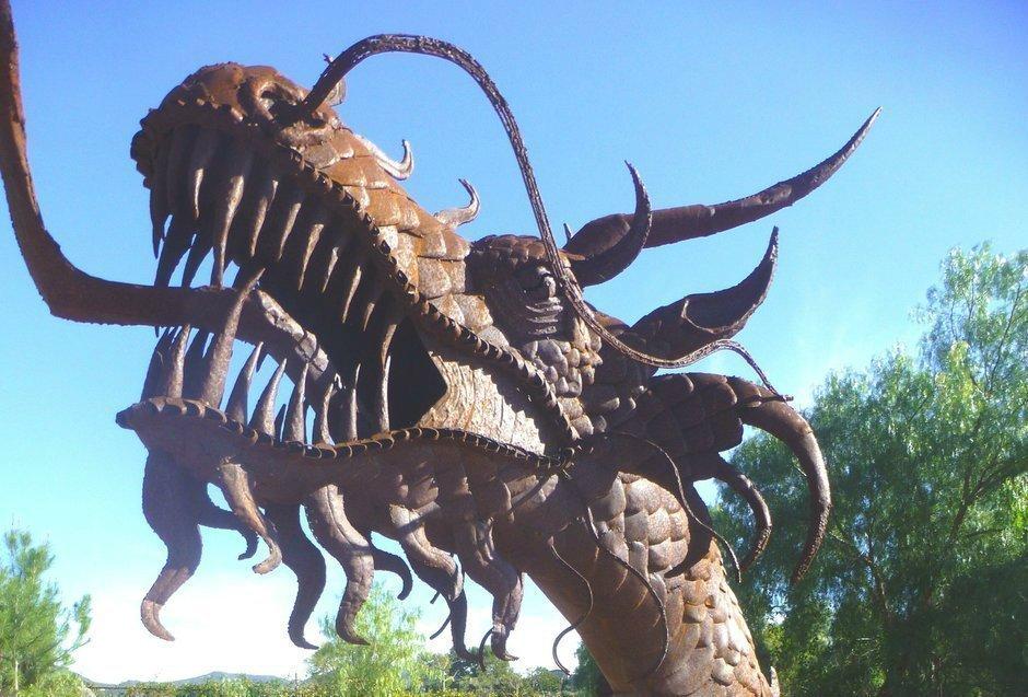 Alta Vista Botanical Gardens Hosts Metal Sculptor Ricardo Breceda The San Diego Union Tribune