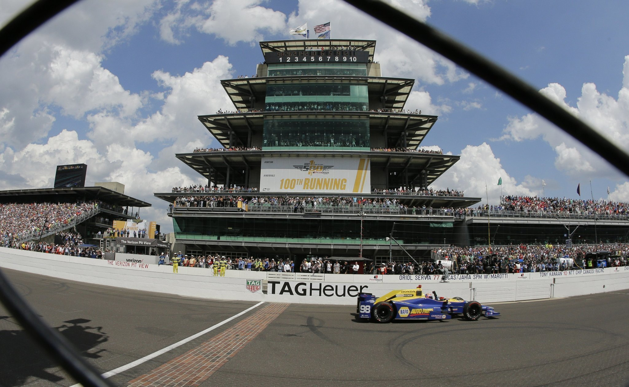 Highlights from the 100th running of the Indianapolis 500 The San