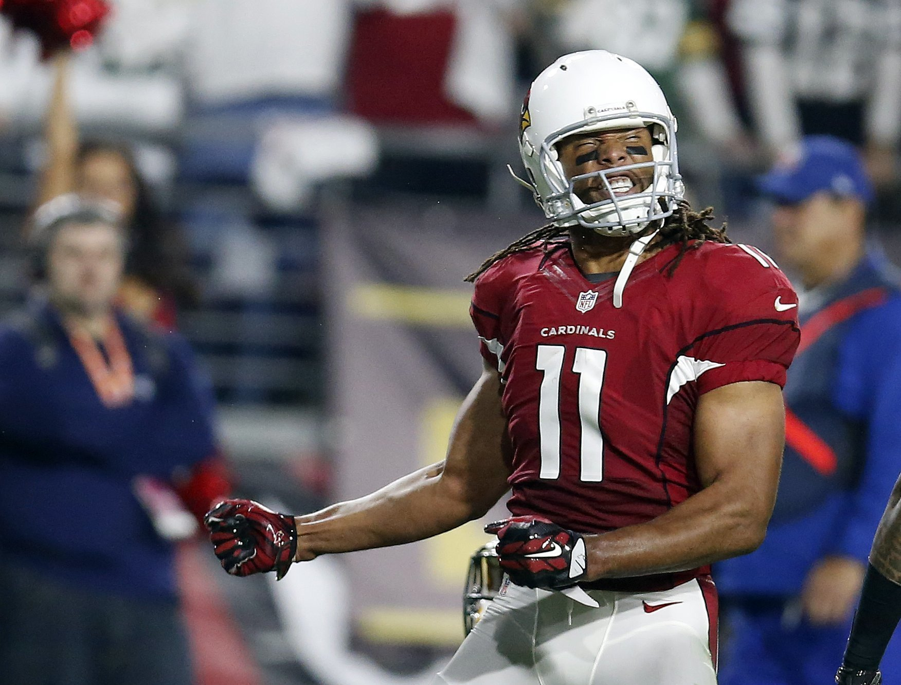 Cardinals Larry Fitzgerald not thinking beyond this season The