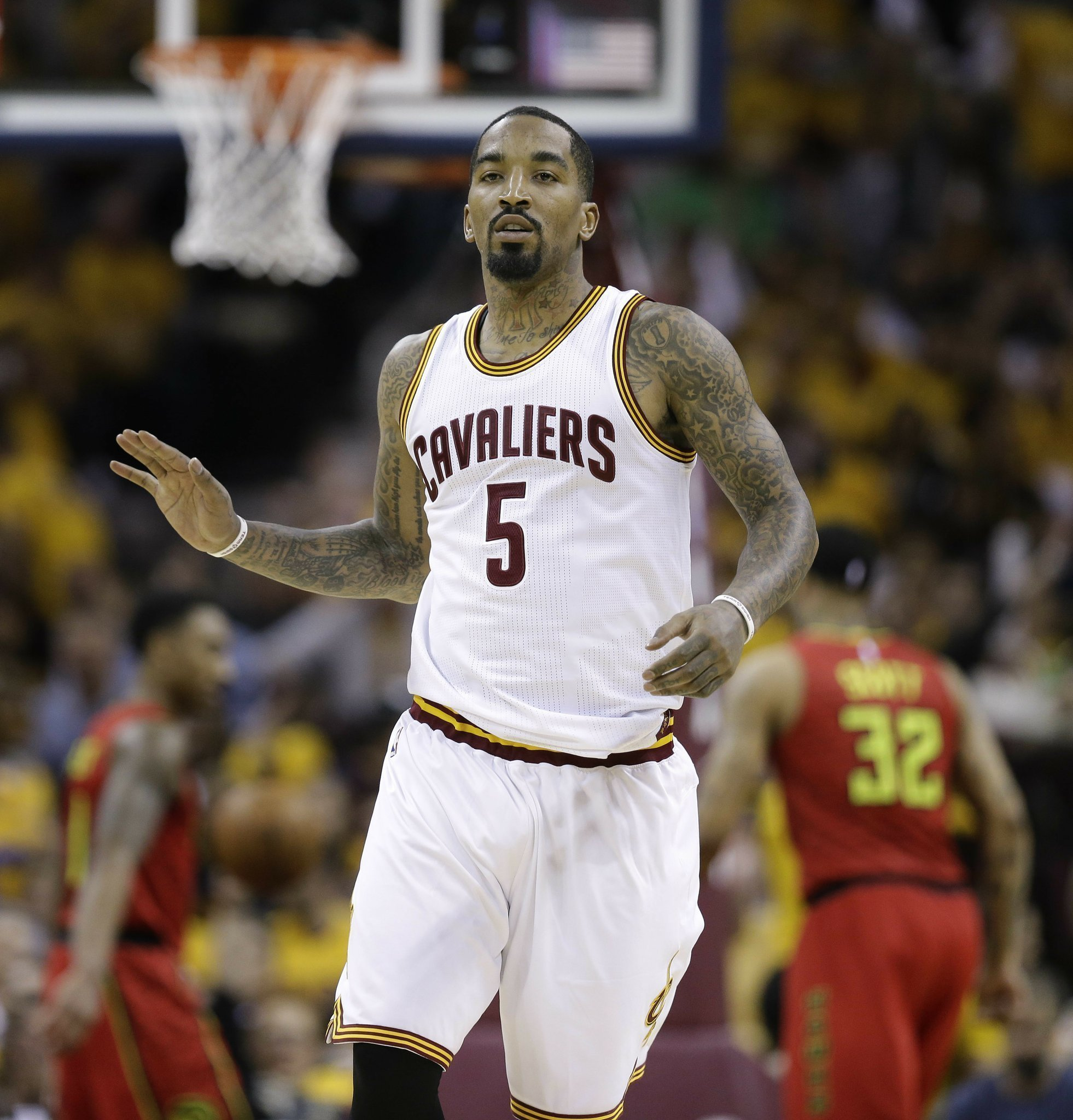 3 For All Cavaliers Make Record 25 Pointers Rout Hawks
