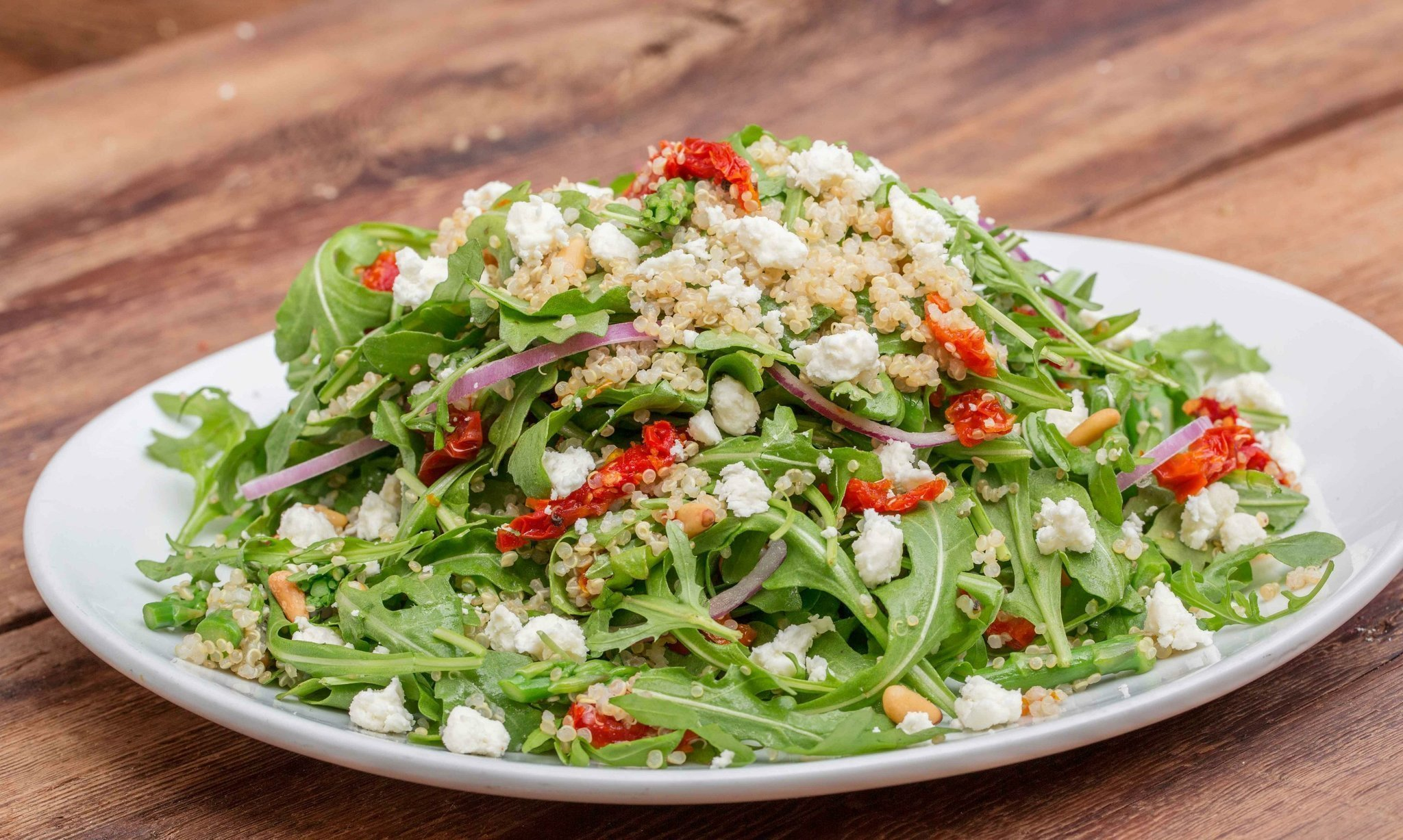 quinoa arugula salad from cpk the san go union tribune