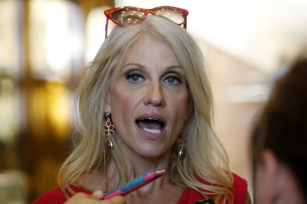 President-Elect Donald Trump names Kellyanne Conway as