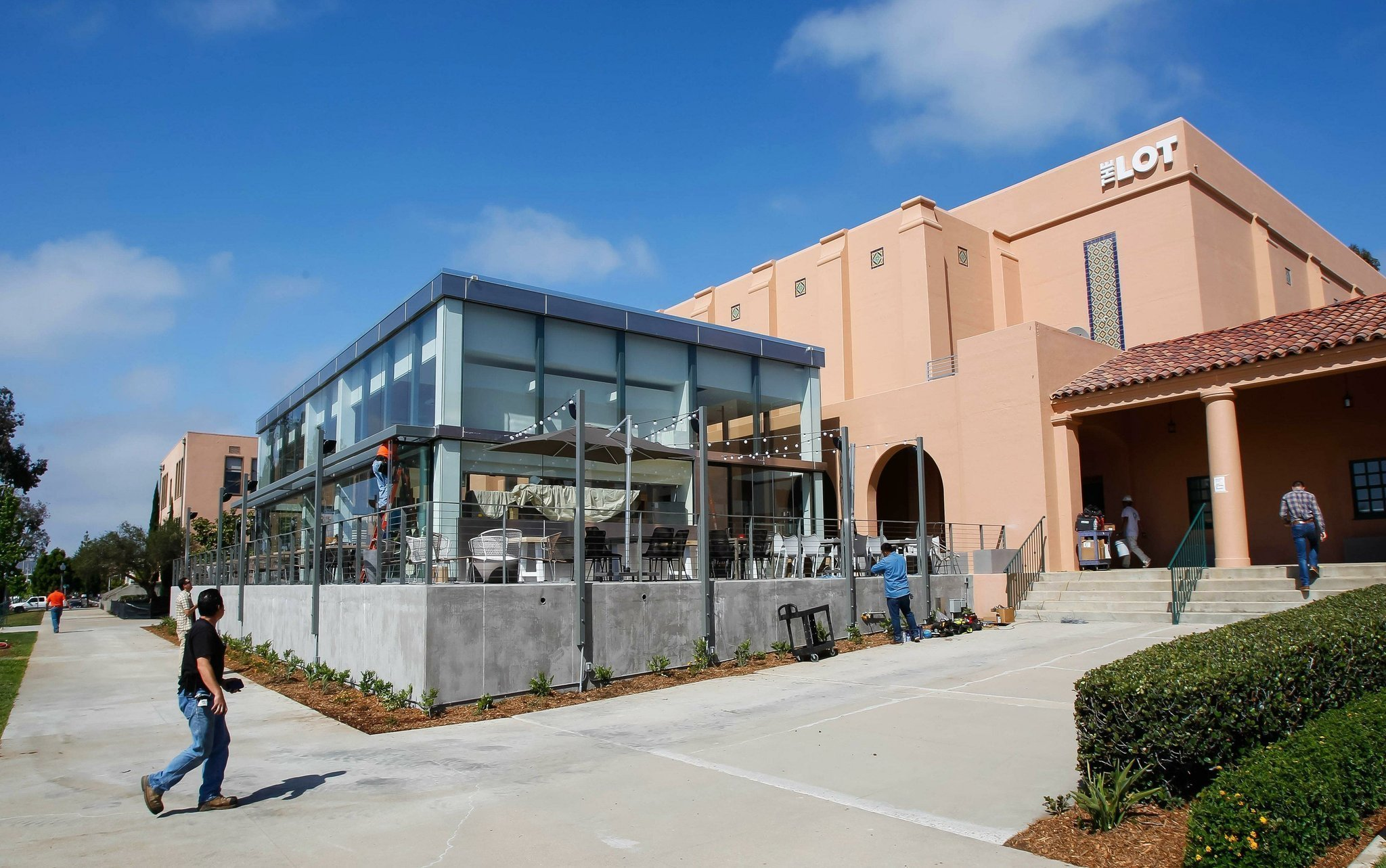 The Lot Brings Upscale Cinema Dining To Liberty Station San