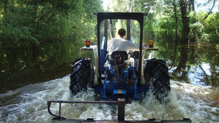 Louisiana flooding aftermath