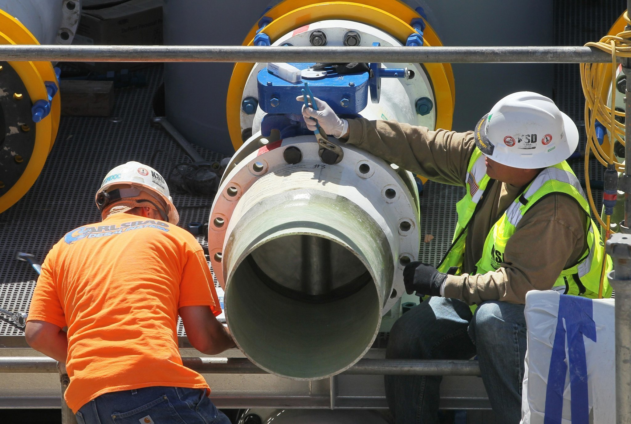 Carlsbad to more desalinated water The San Diego Union Tribune