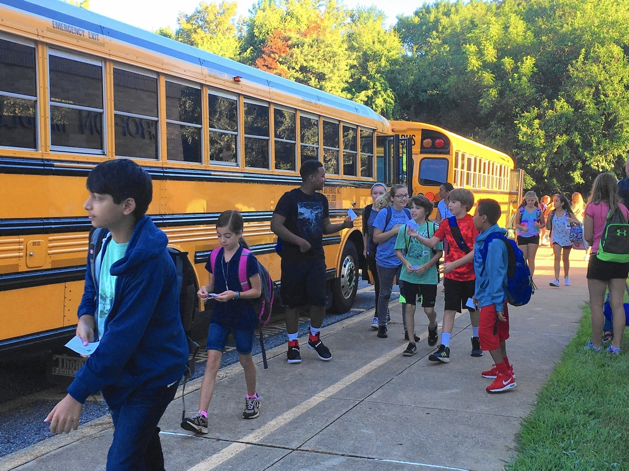 Crofton Middle Sixth Graders Navigate New School Capital