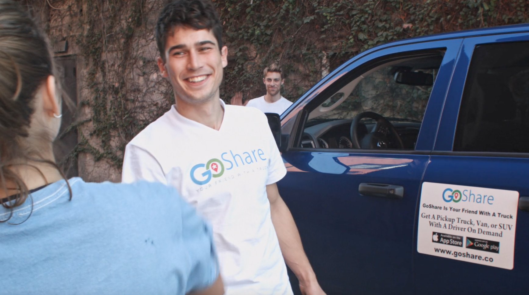 GoShare enables people to rent trucks for hauling large items.