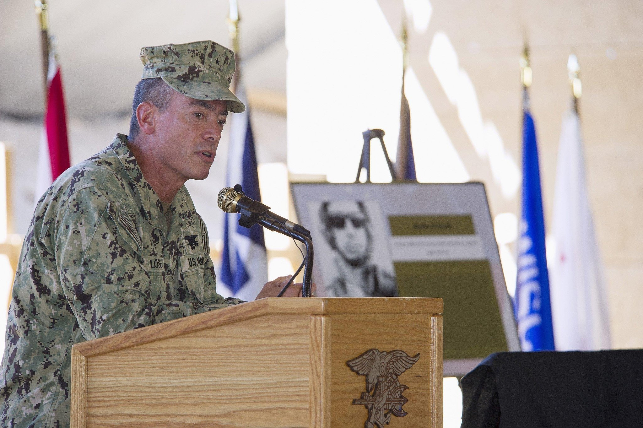 Navy Seal Admiral S Rare Public Punishment The San