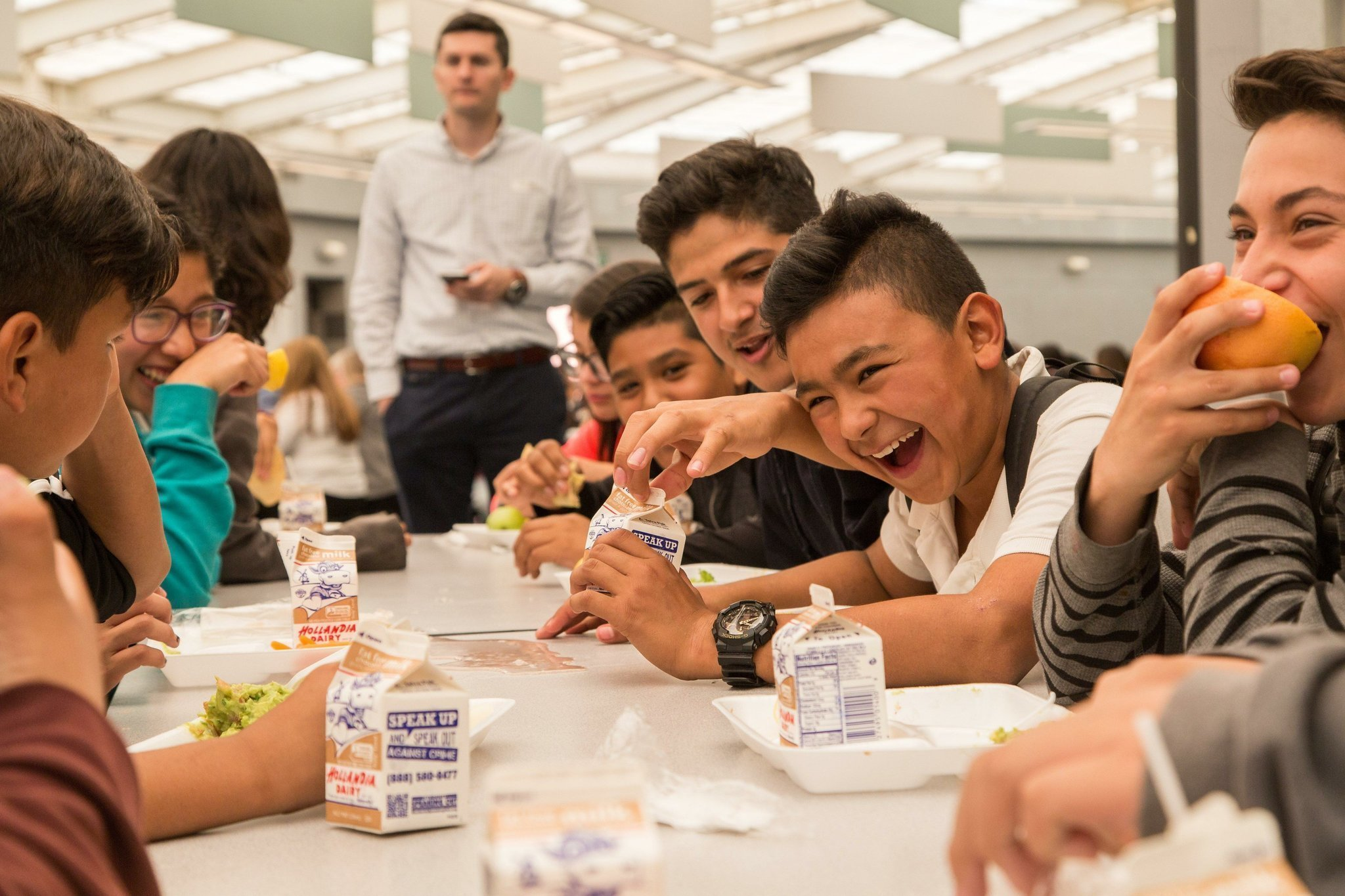 middle school lunch table. Plain Table Droolworthy Grilled Fish Tacos Put The San Ysidro School District On  Farmtoschool Map  The Diego UnionTribune In Middle Lunch Table