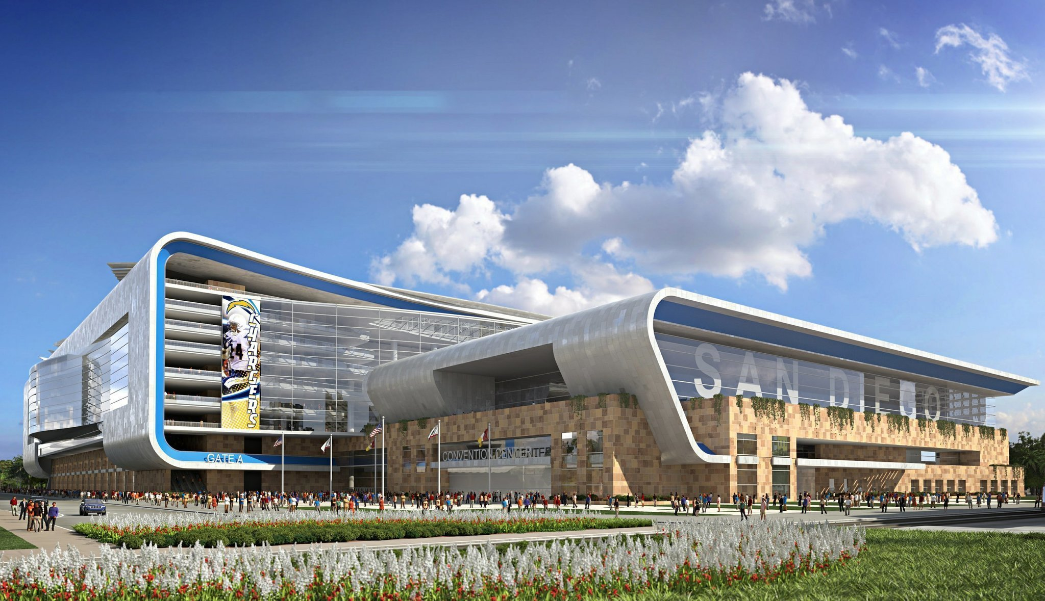 Chargers Want Hotel Tax Hike For 1 8b Nfl Stadium Project The