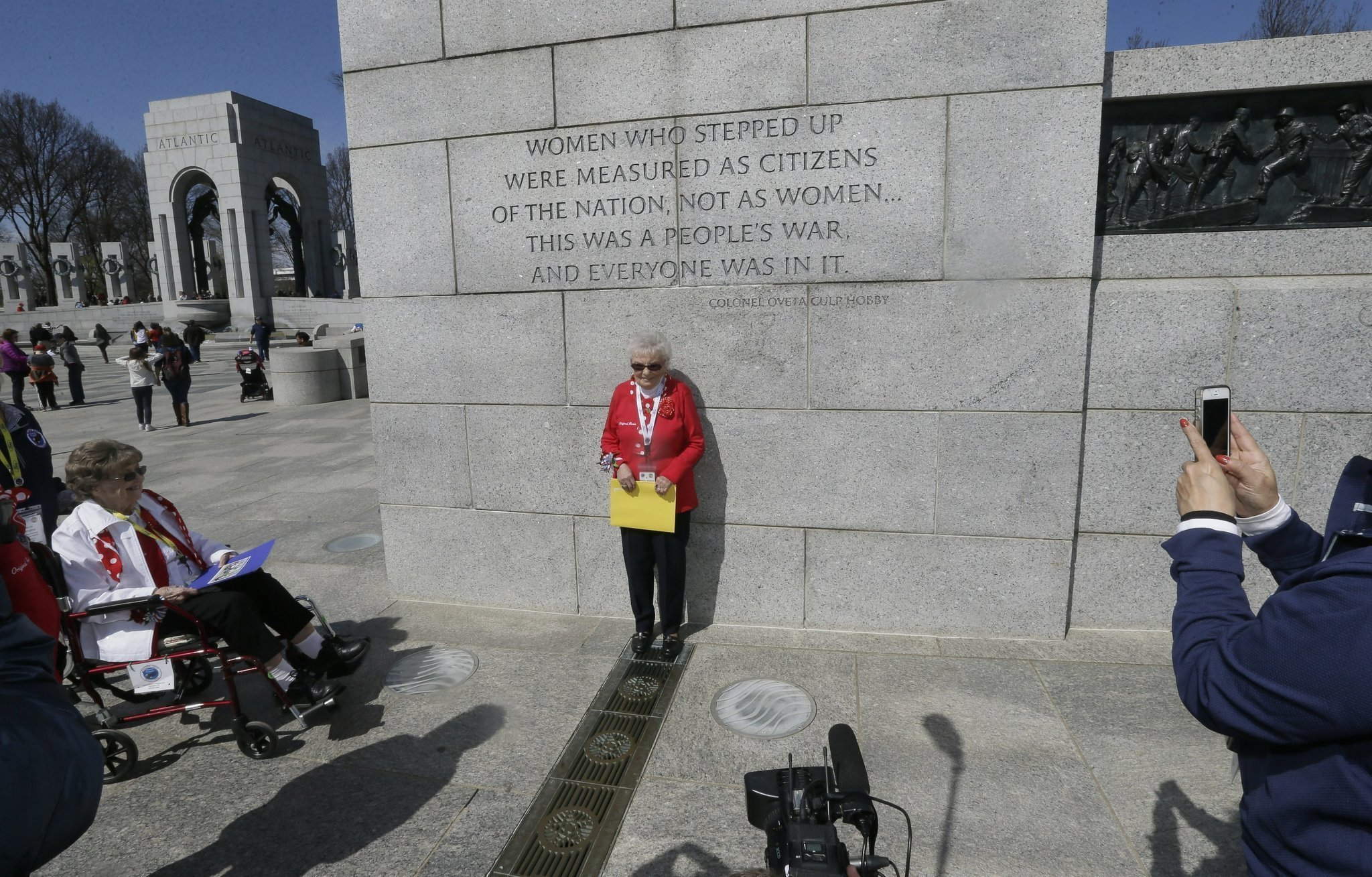 Rosie The Riveters Honored With Visit To Washington The San Diego