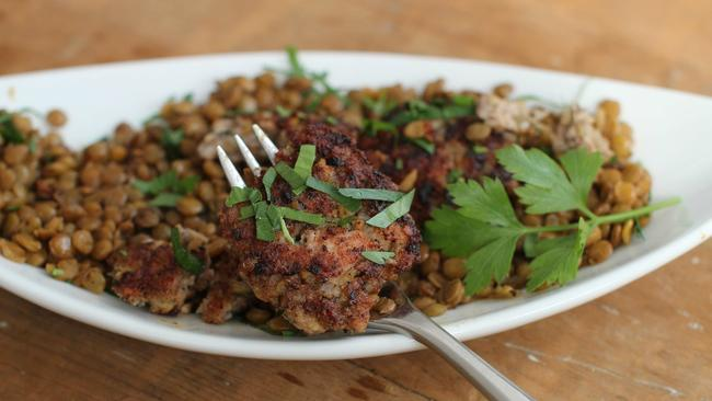 Dont be intimidated by sausage making this recipe is easy the this feb 15 2016 photo shows rustic sausage patties with lentils in concord forumfinder Gallery