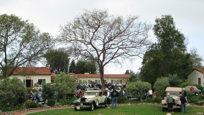 Antique Cars In Spotlight At Rancho Santa Fe The San Diego Union - Palm springs classic car show