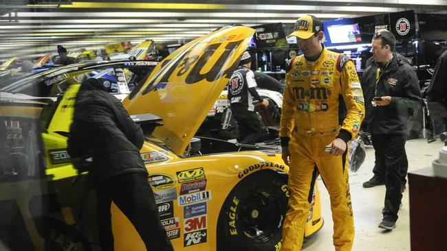 Kyle Buschs Car Fails Inspection Cut From Atlanta Pole The San - Car show atlanta motor speedway