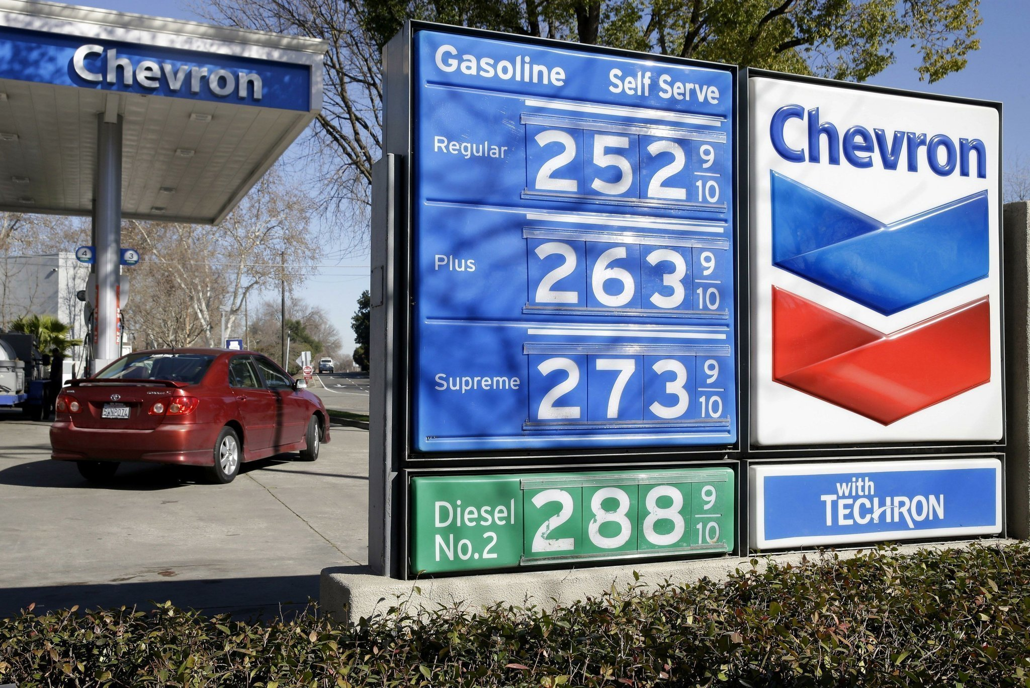 Gas Prices San Diego >> California Gas Prices Expected To Jump Overnight Possibly 30 Cents