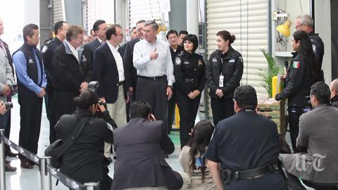 Us and mexico launch joint customs inspections in tijuana the facility aims to speed inspections at border sciox Gallery