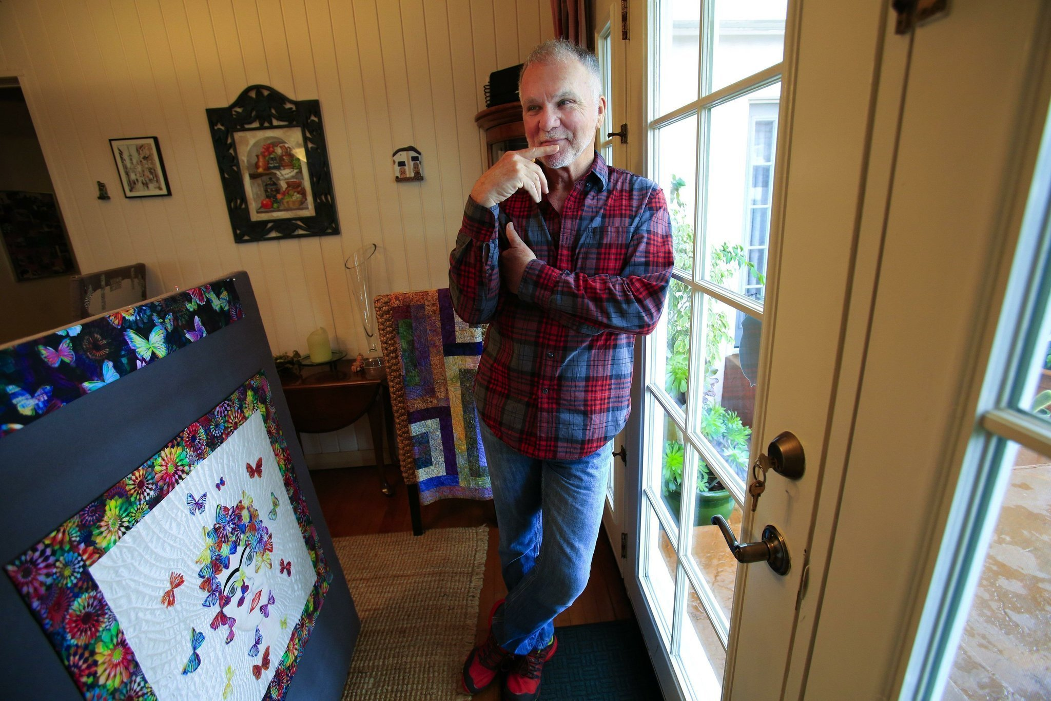 Men who quilt - The San Diego Union-Tribune : men in quilts - Adamdwight.com