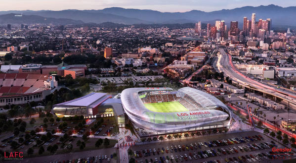 Banc of California snags naming rights for L.A. Football Club soccer stadium