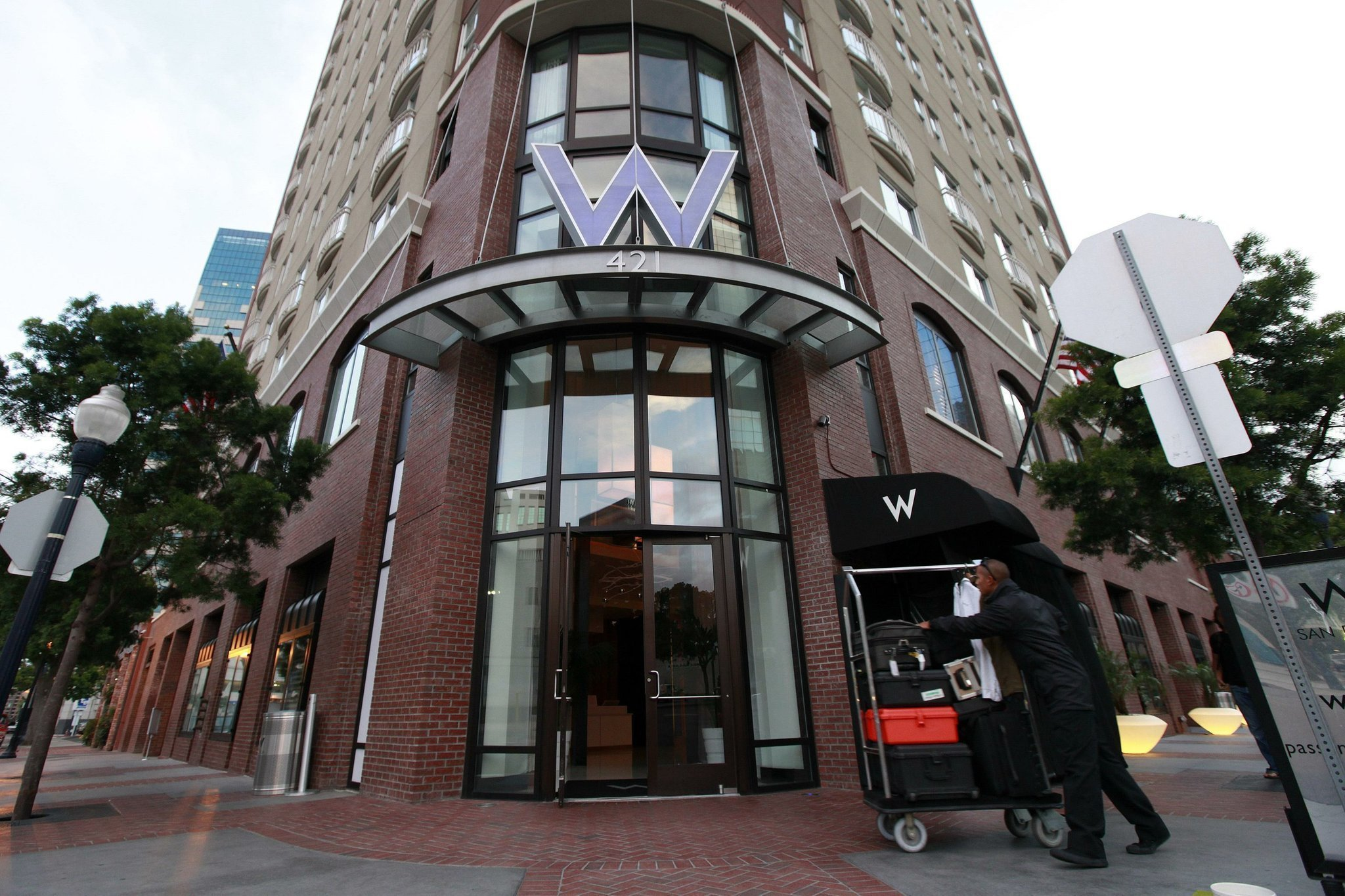 The W San Go Has Been Re Branded As A Renaissance Hotel Union Tribune