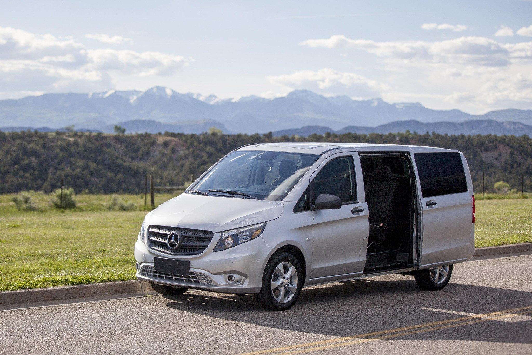 all to rear vito power or front benz versatile van mercedes minivan puts