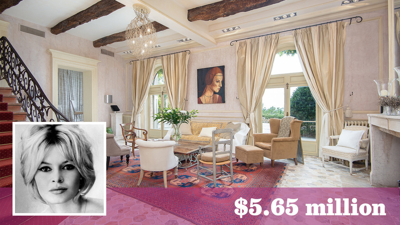 Former Vacation Home Of Brigitte Bardot Is For Sale In