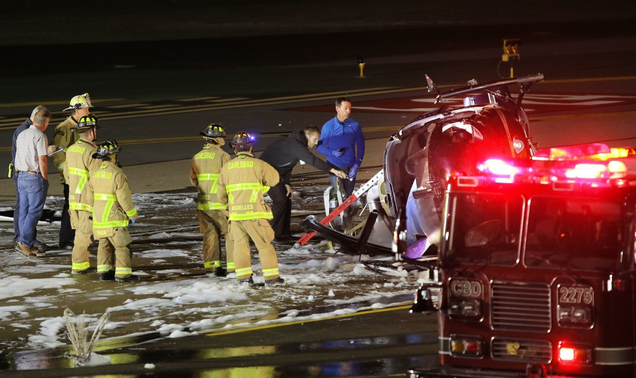 Ntsb Copter Missed Helipad 4 Times Before Fatal Crash The San