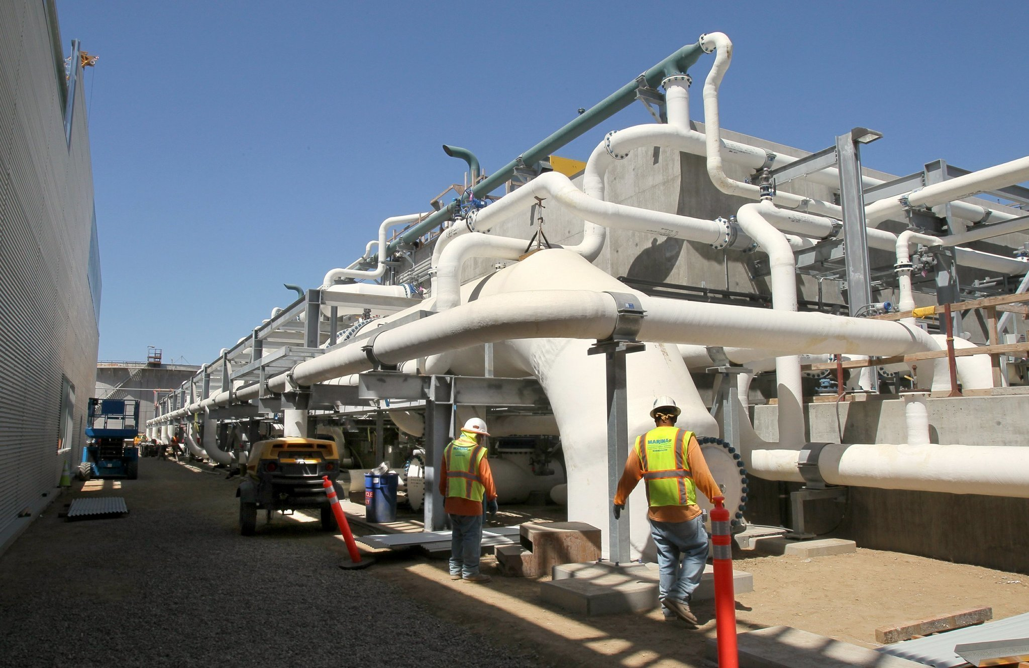 A picture of desalination in California and Australia The San