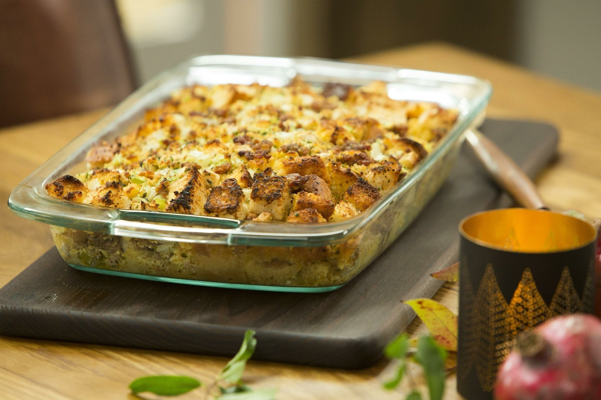 Tia mowry shares her cornbread stuffing the san diego union tribune forumfinder Image collections