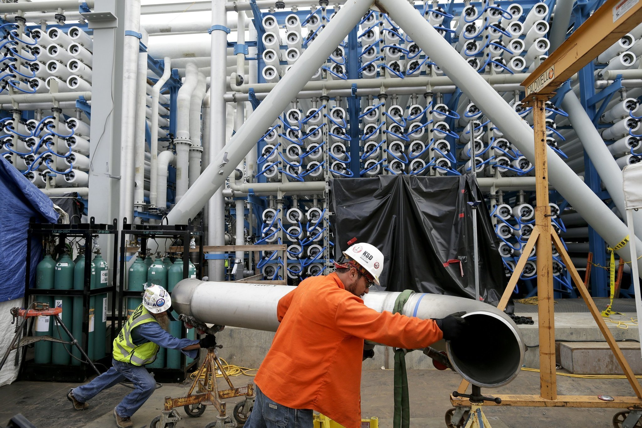 Poseidon desalination plant in Carlsbad nears opening The San