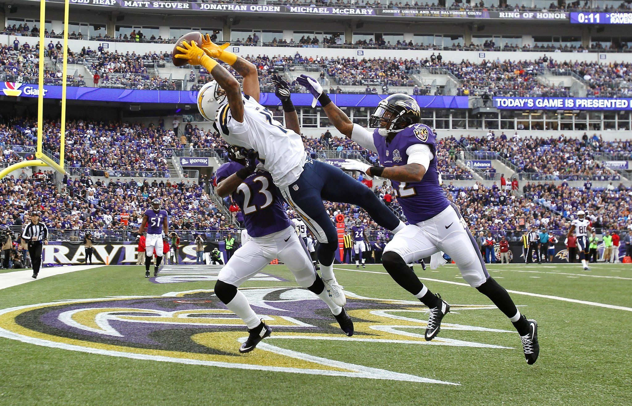 San Diego Chargers Vs Baltimore Ravens Photos The San
