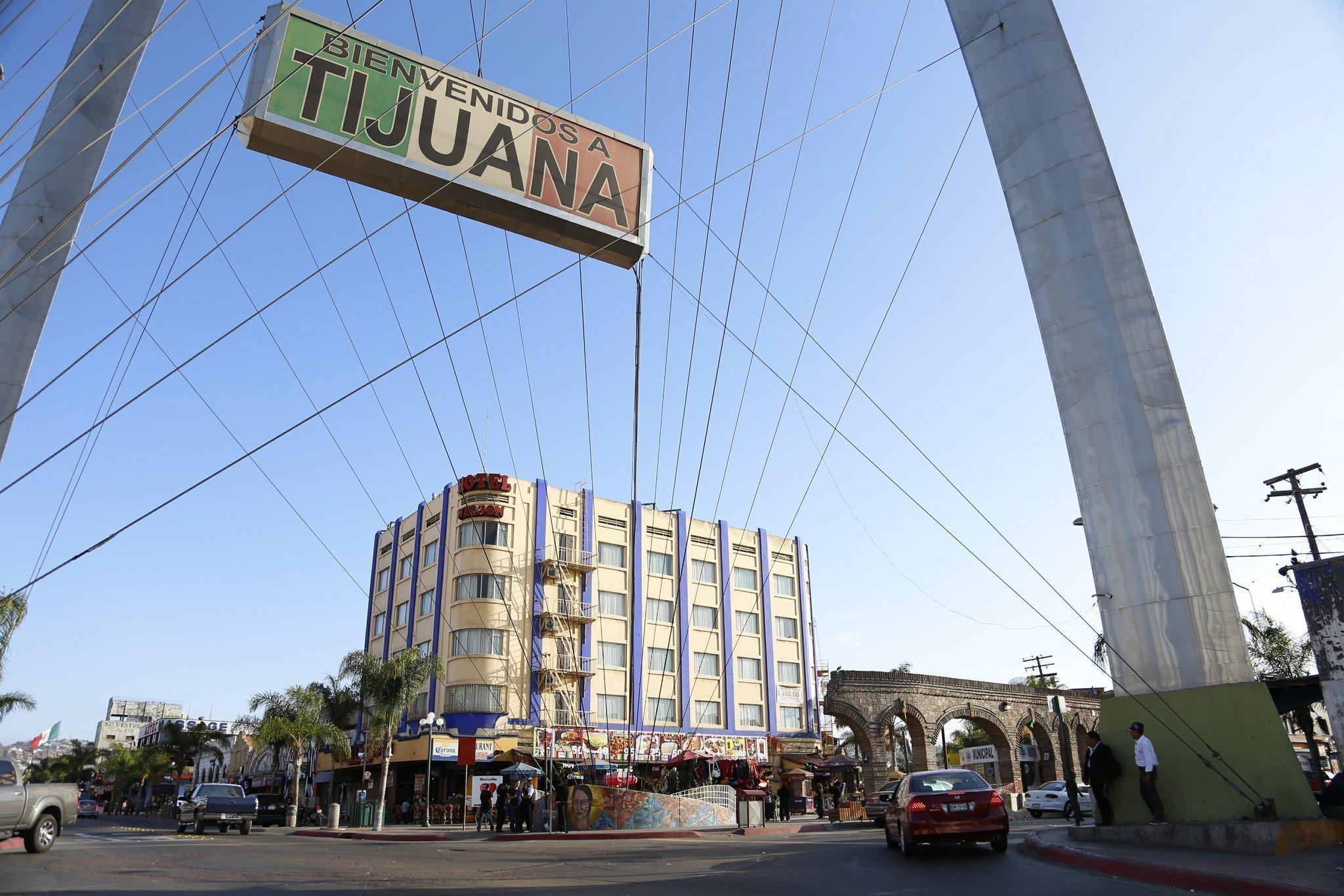 Tijuana tourism pitch flirts with oldest profession the for Piletas publicas en zona norte