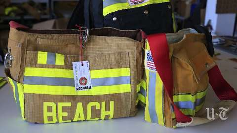Firefighter Turnout Bags