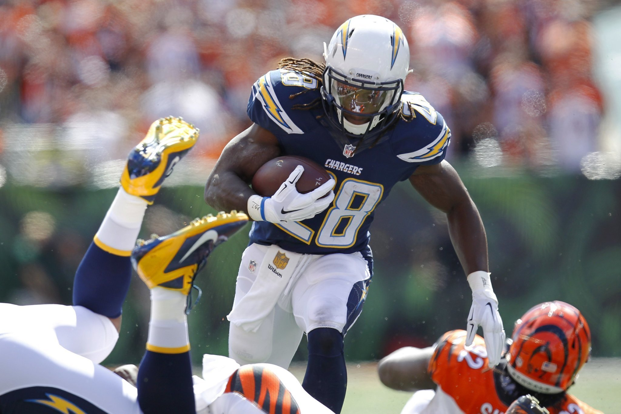 Chargers Blocker Melvin Gordon Is Special The San