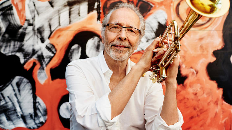 Trumpeter Herb Alpert. (Dewey Nicks / Herb Alpert Foundation)