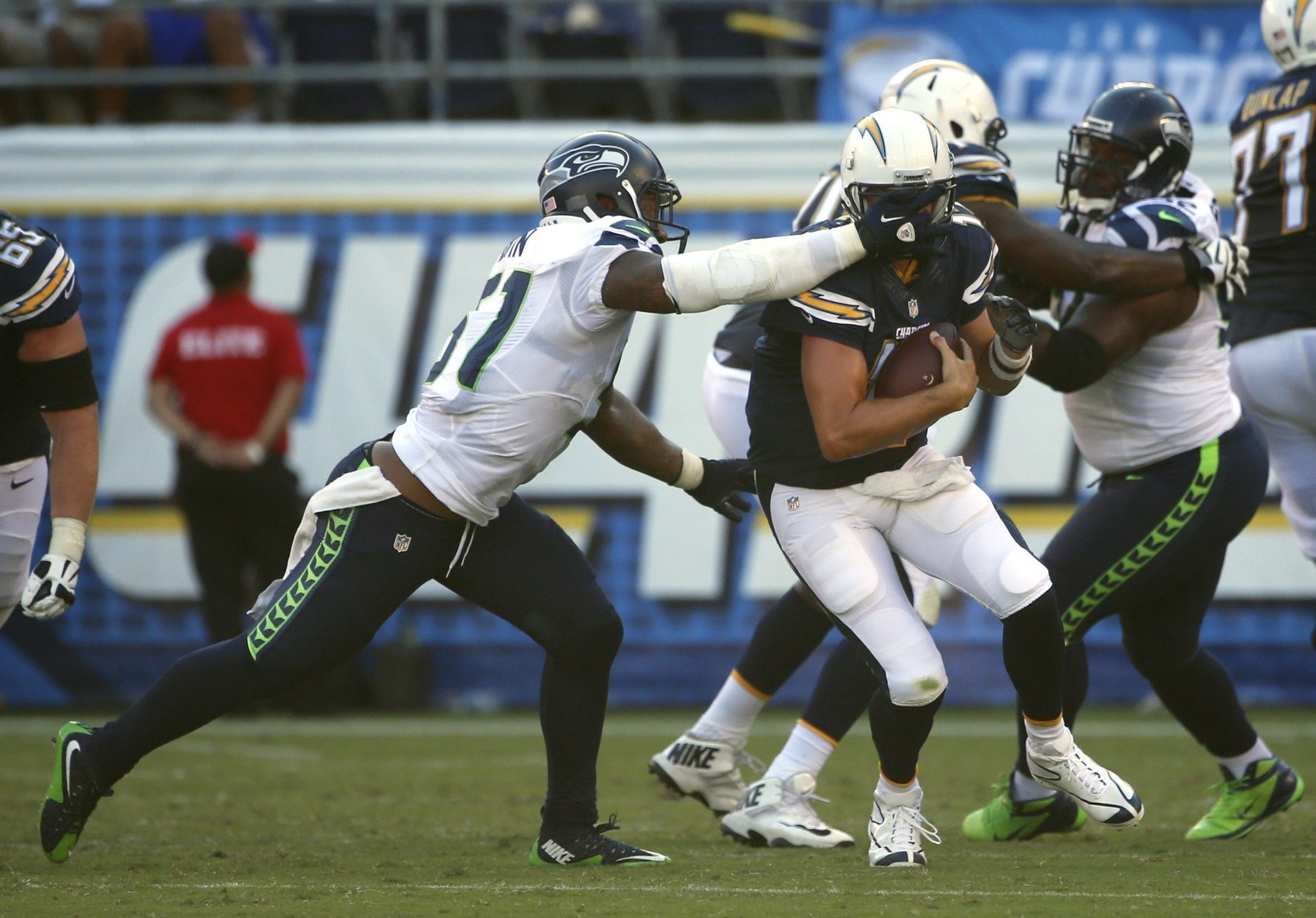 Chargers say Seahawk ed Rivers The San Diego Union Tribune